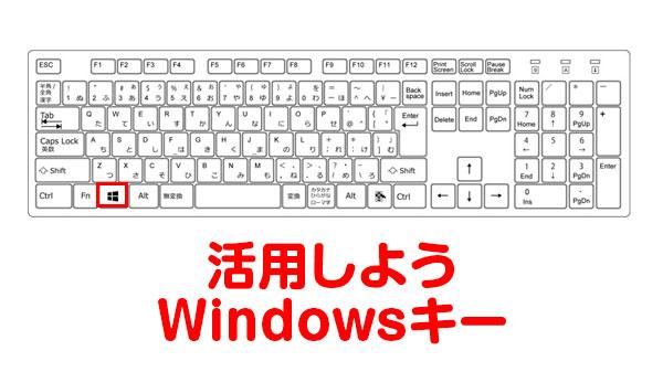 [Windows10]文書作成やSNSで文字を打つときWindowsキーを活用